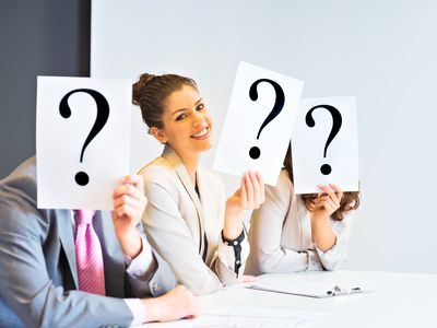 Business colleagues have questions for the HR expert.