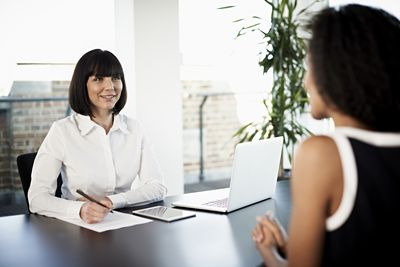 career specialist with client