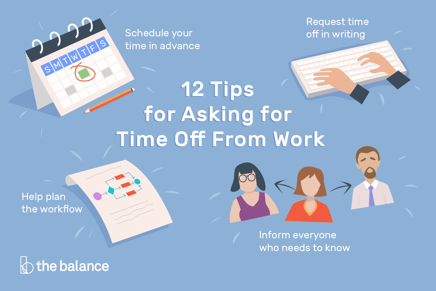 12 Tips For Asking For And Getting Time Off From Work