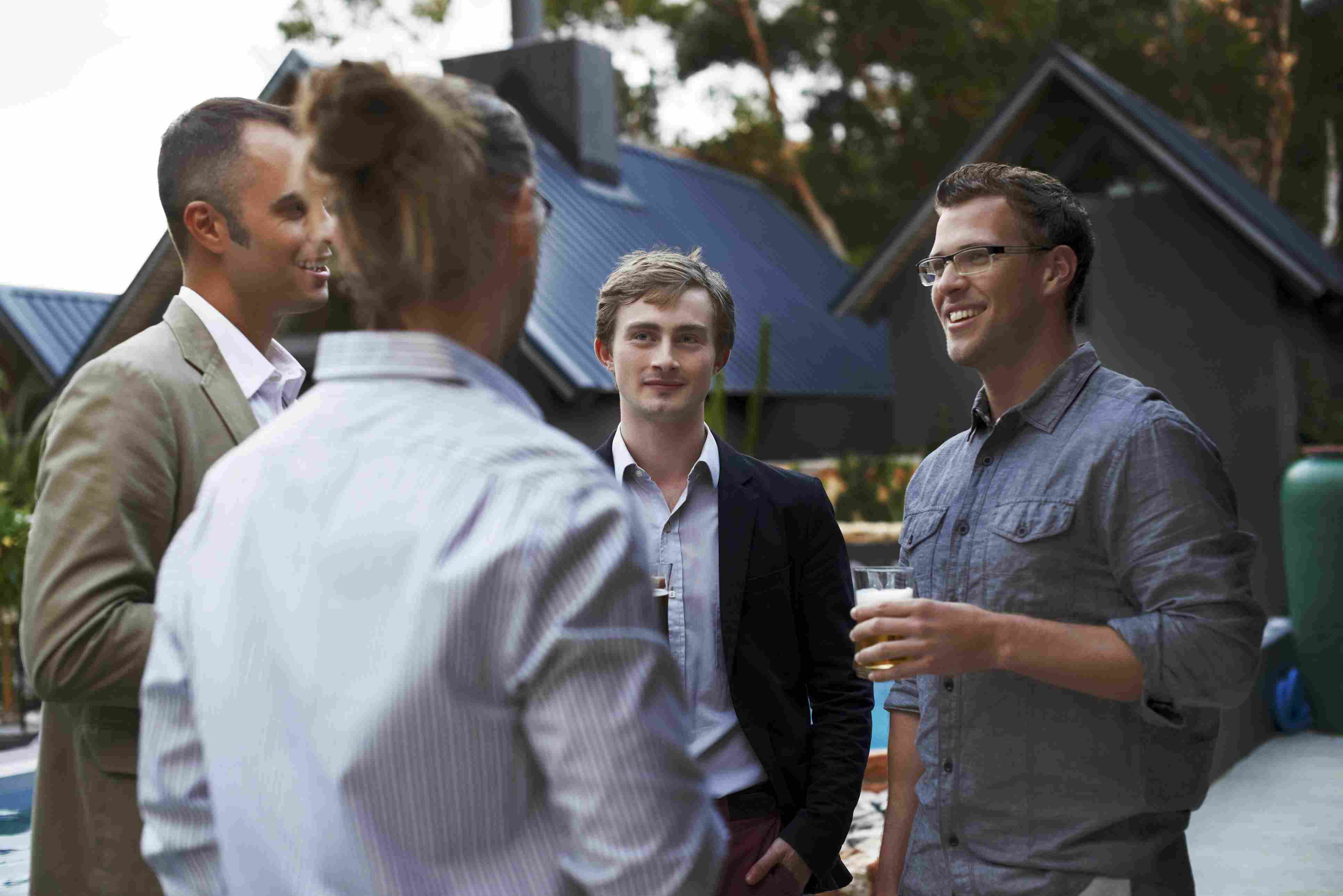 Learn how to make small talk at a party.