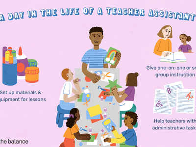 A day in the life of a teacher assistant: Set up materials and equipment for lessons, give one-on-one or small group instruction, help teachers with administrative tasks