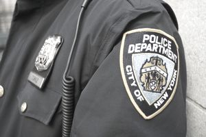 NYC policeman's shoulder patch.