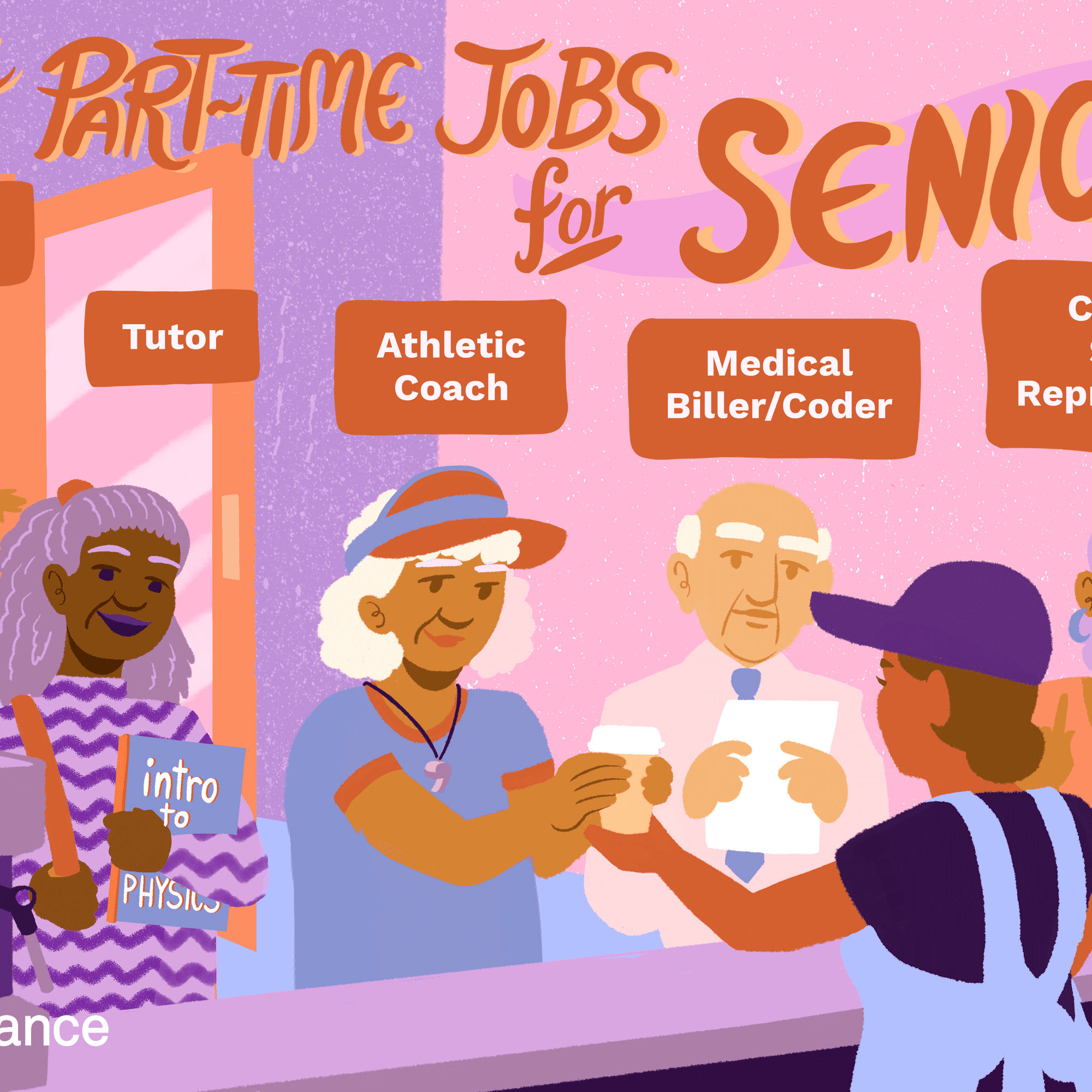 The 10 Best Part Time Jobs For Seniors