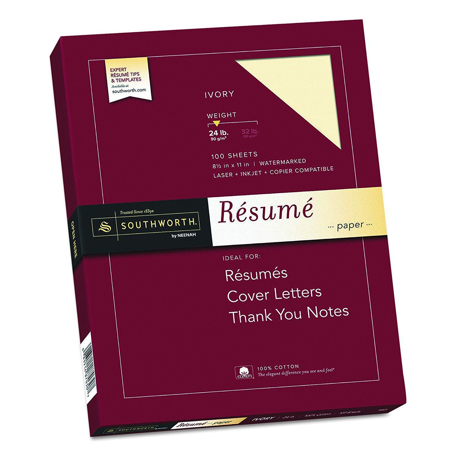 what paper to use for resumes