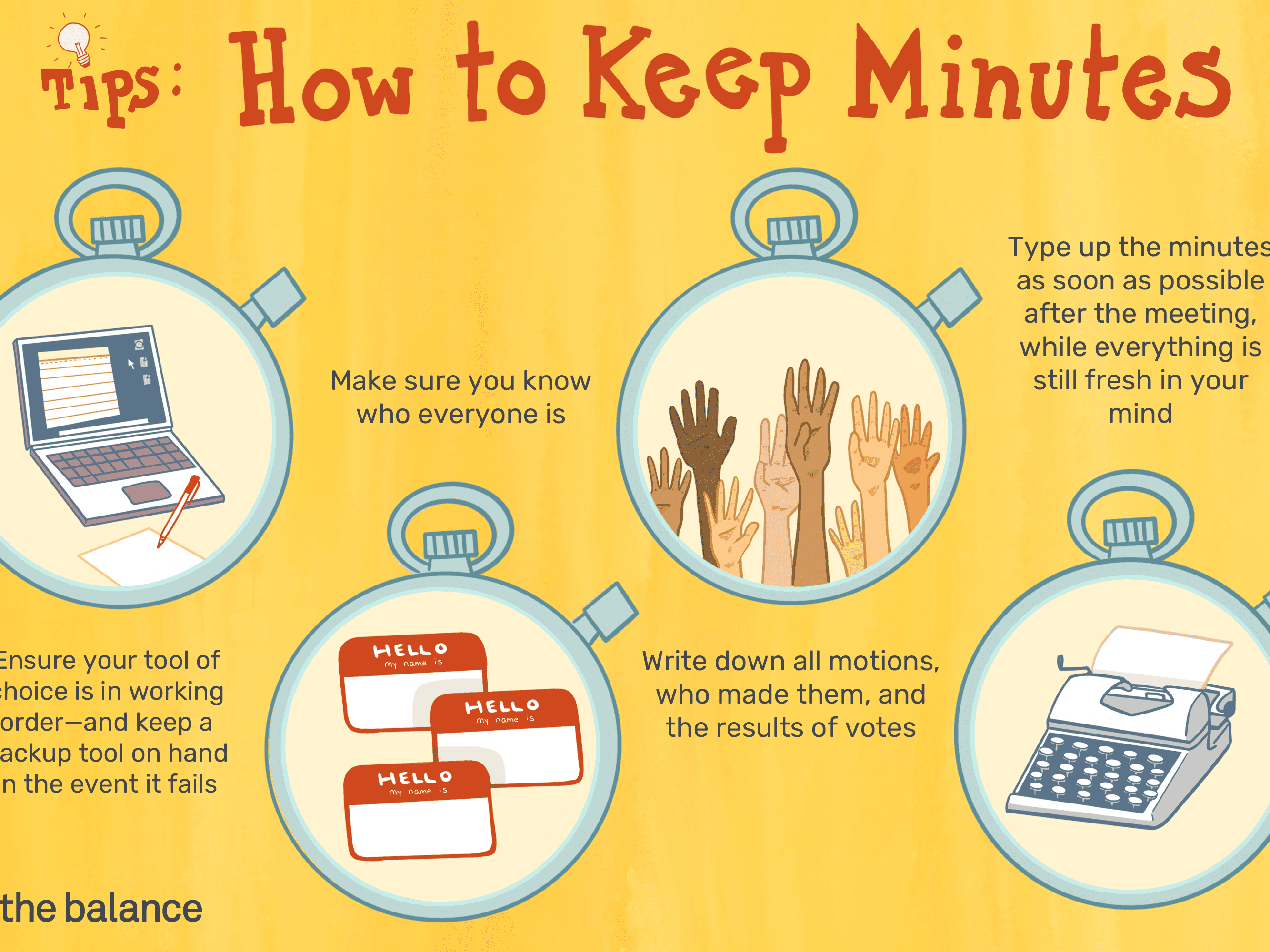 Learn How to Keep Meeting Minutes