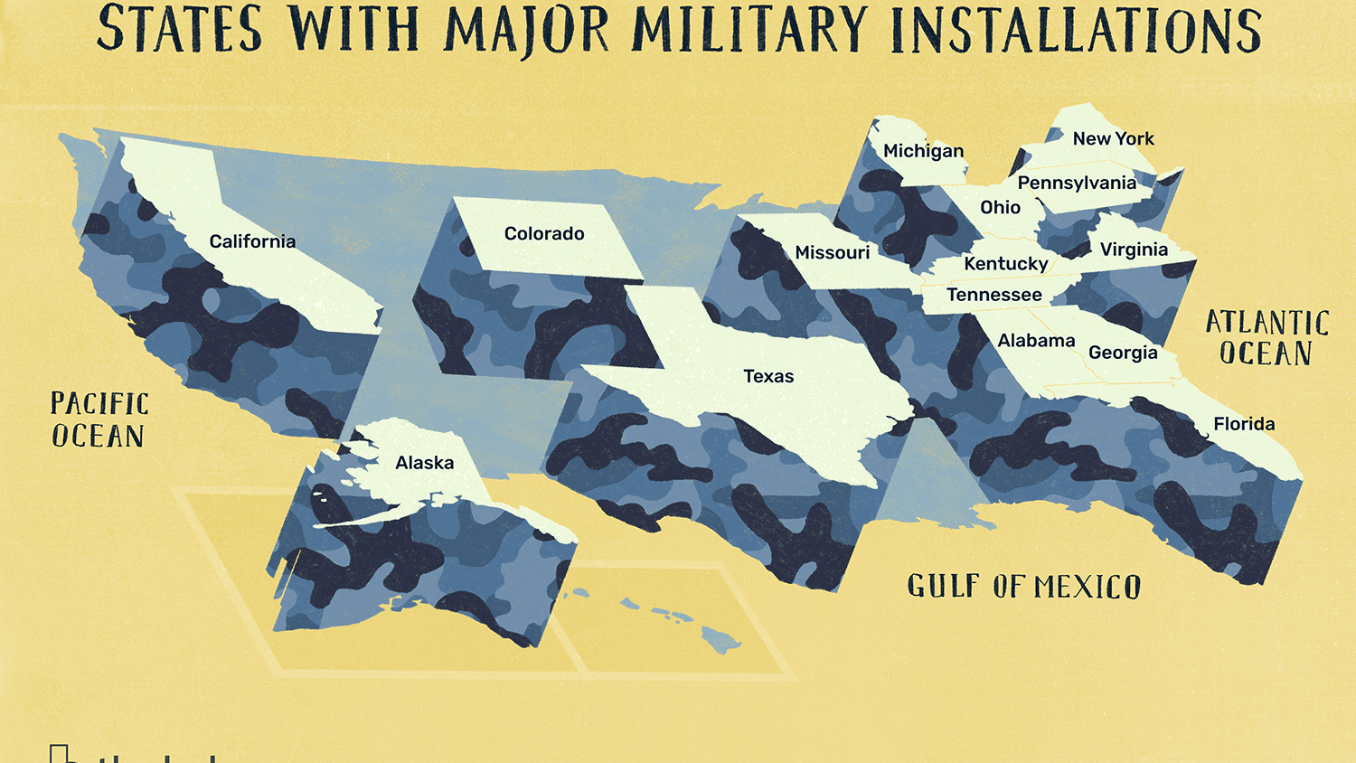 Major U S Military Bases And Installations