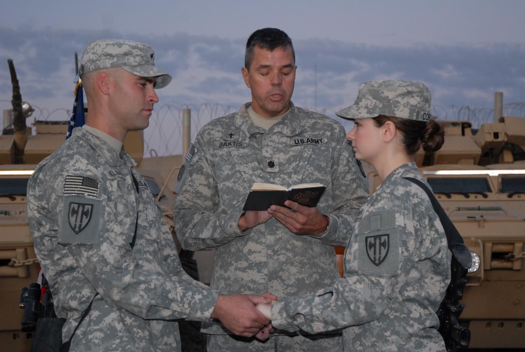 Married Couples In The Military
