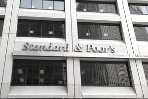 The front of the New York offices of Standard & Poor's
