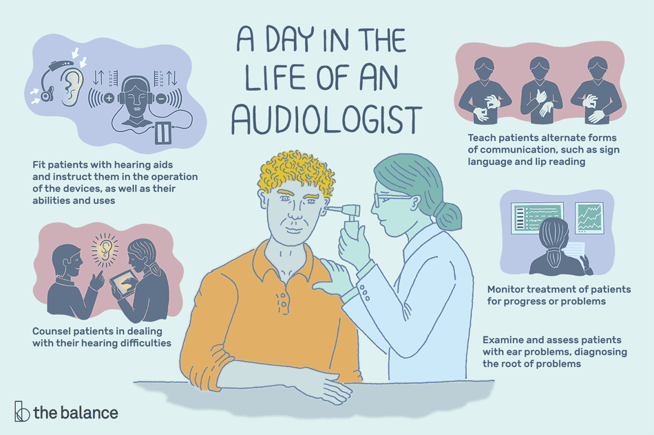 a day in the life of an audiologist