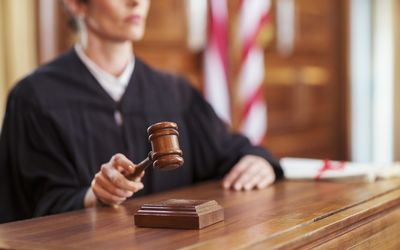 meaning of admonished in court
