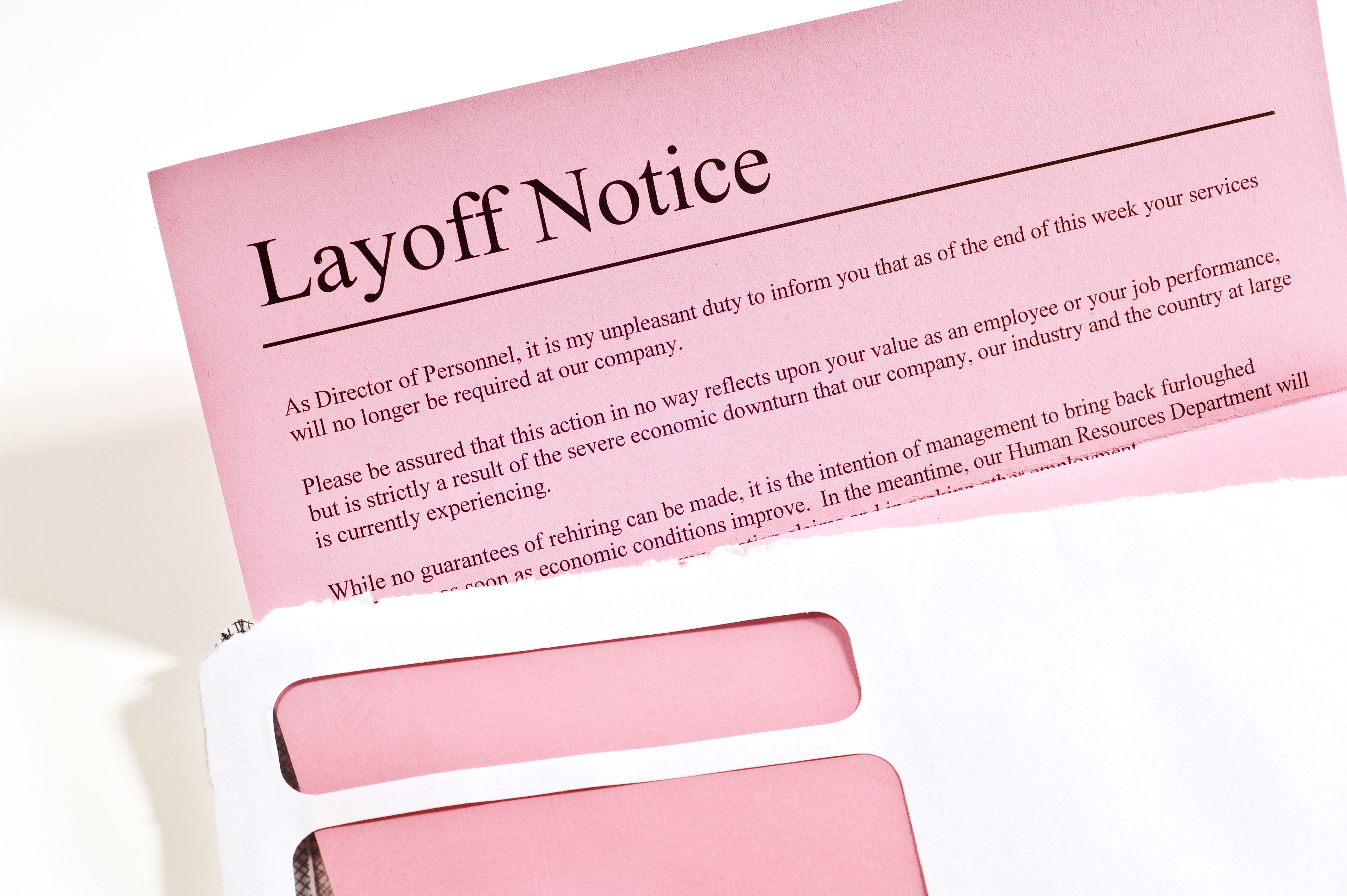 What to Do If You Are Laid Off From Work