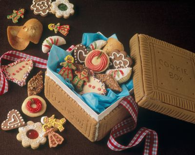 a holiday cookie exchange is an excellent alternatve to a holiday party