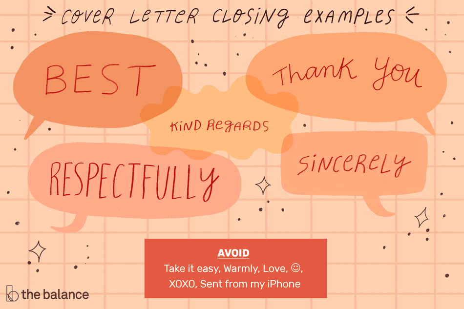 How to Write a Cover Letter Closing With Examples
