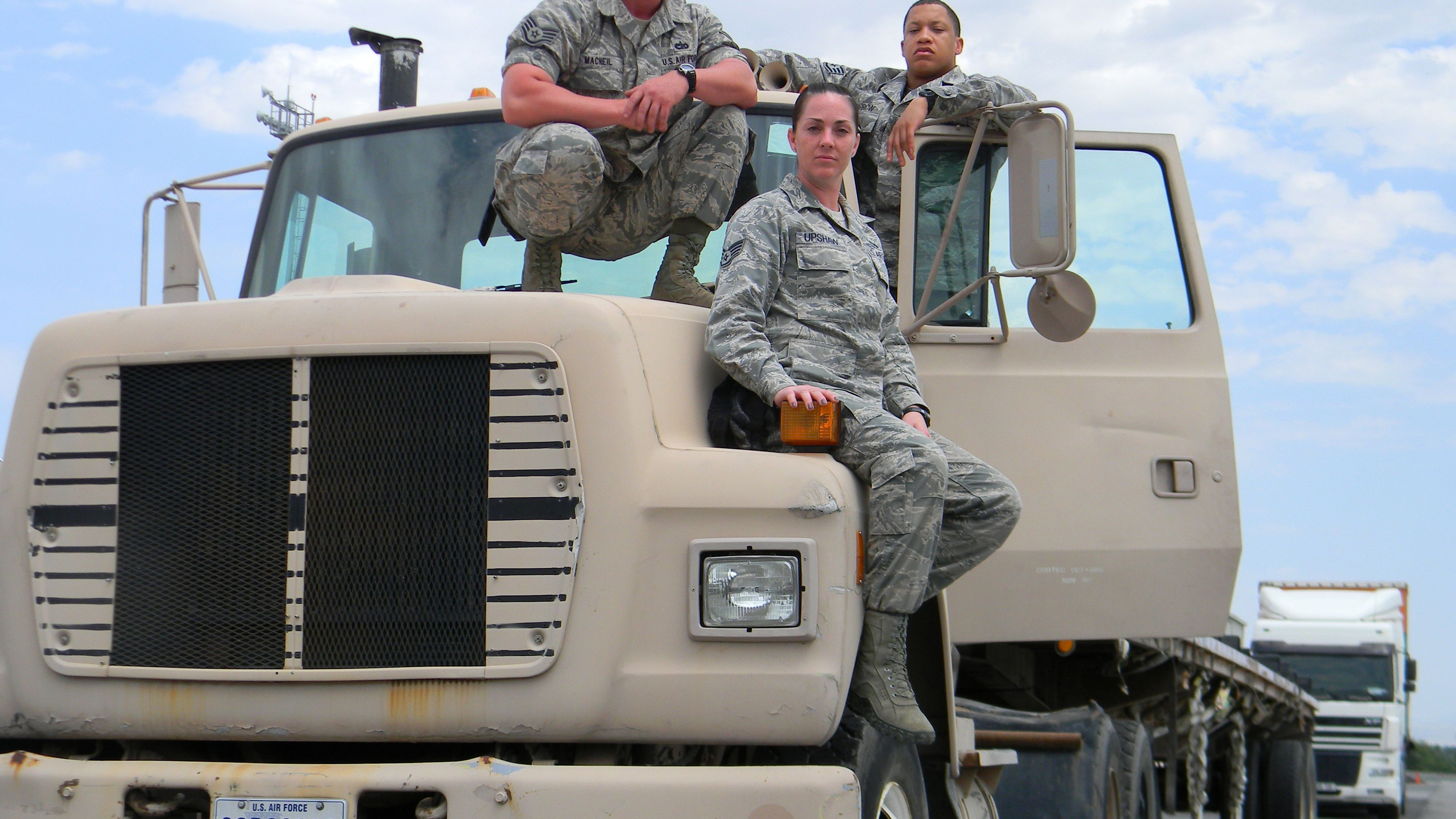 Air Force Enlisted Job: 2T1X1 Vehicle Operations