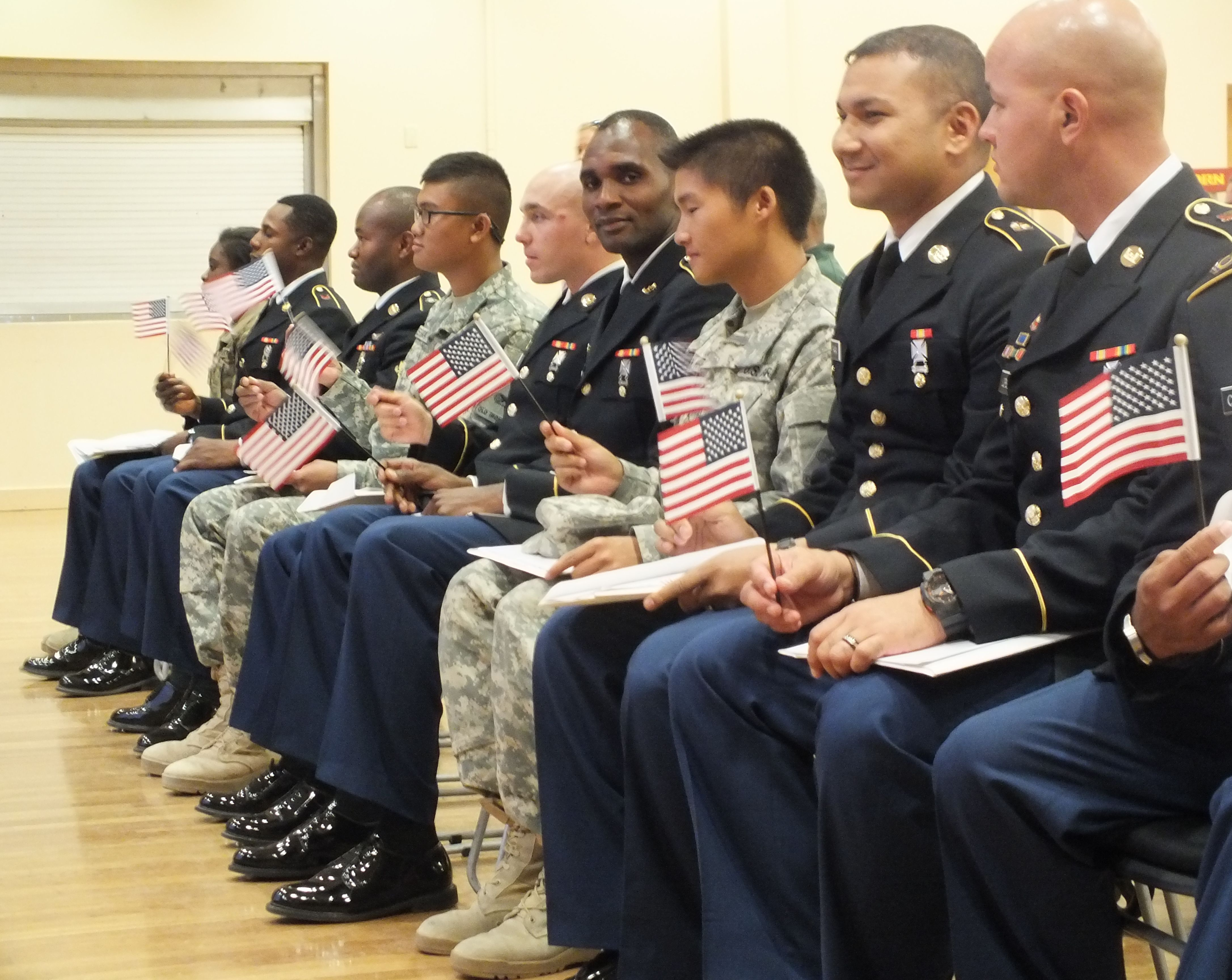 Becoming a Citizen While Serving in the U S  Military