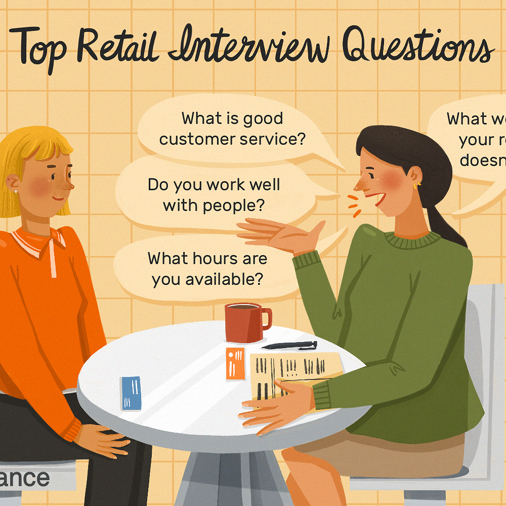 Retail Job Interview Questions And Best Answers