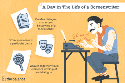 A Day in the Life of a Screenwriter