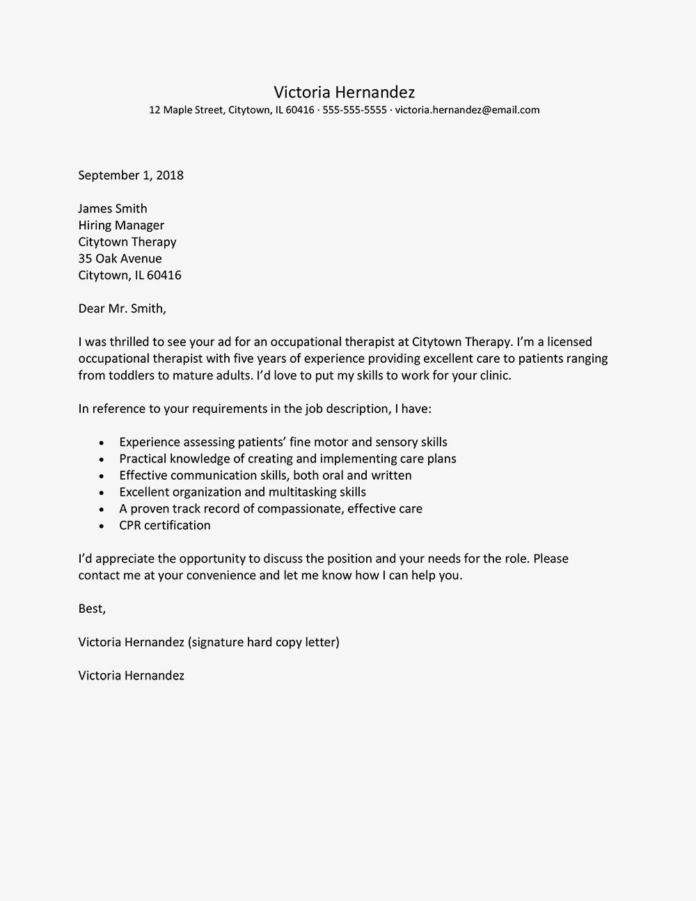 Good Example Cover Letter Stark Houseofstrauss Co