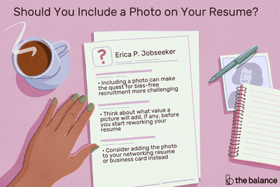 Should You Include A Photo On Your Resume