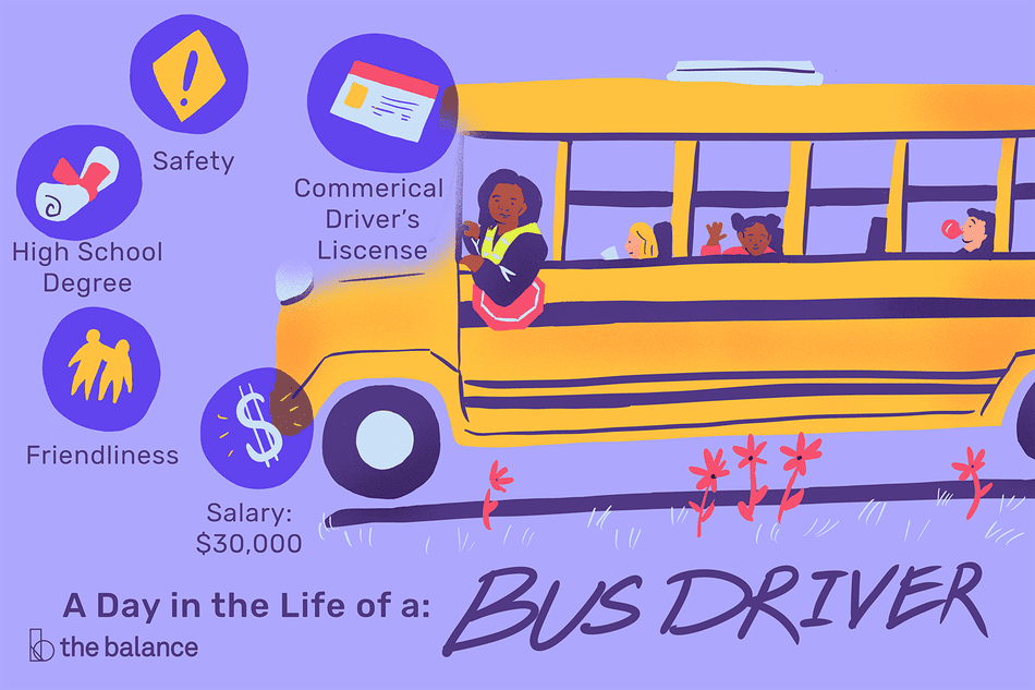 A Day in the Life of a Bus Driver