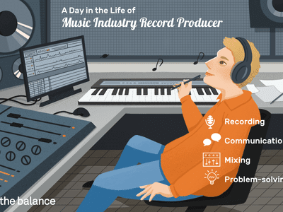A day in the life of a music industry record producer: Recording, communication, mixing, problem-solving