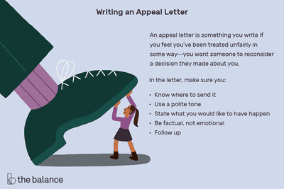 How to Write an Appeal Letter