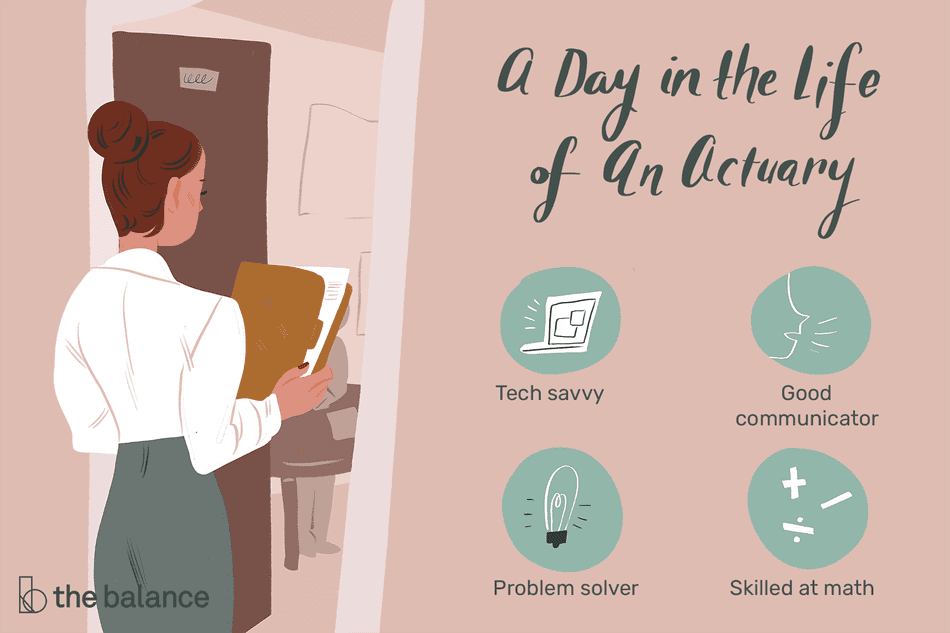 A day in the life of an actuary: Tech savvy, good communicator, problem solver, skilled at math