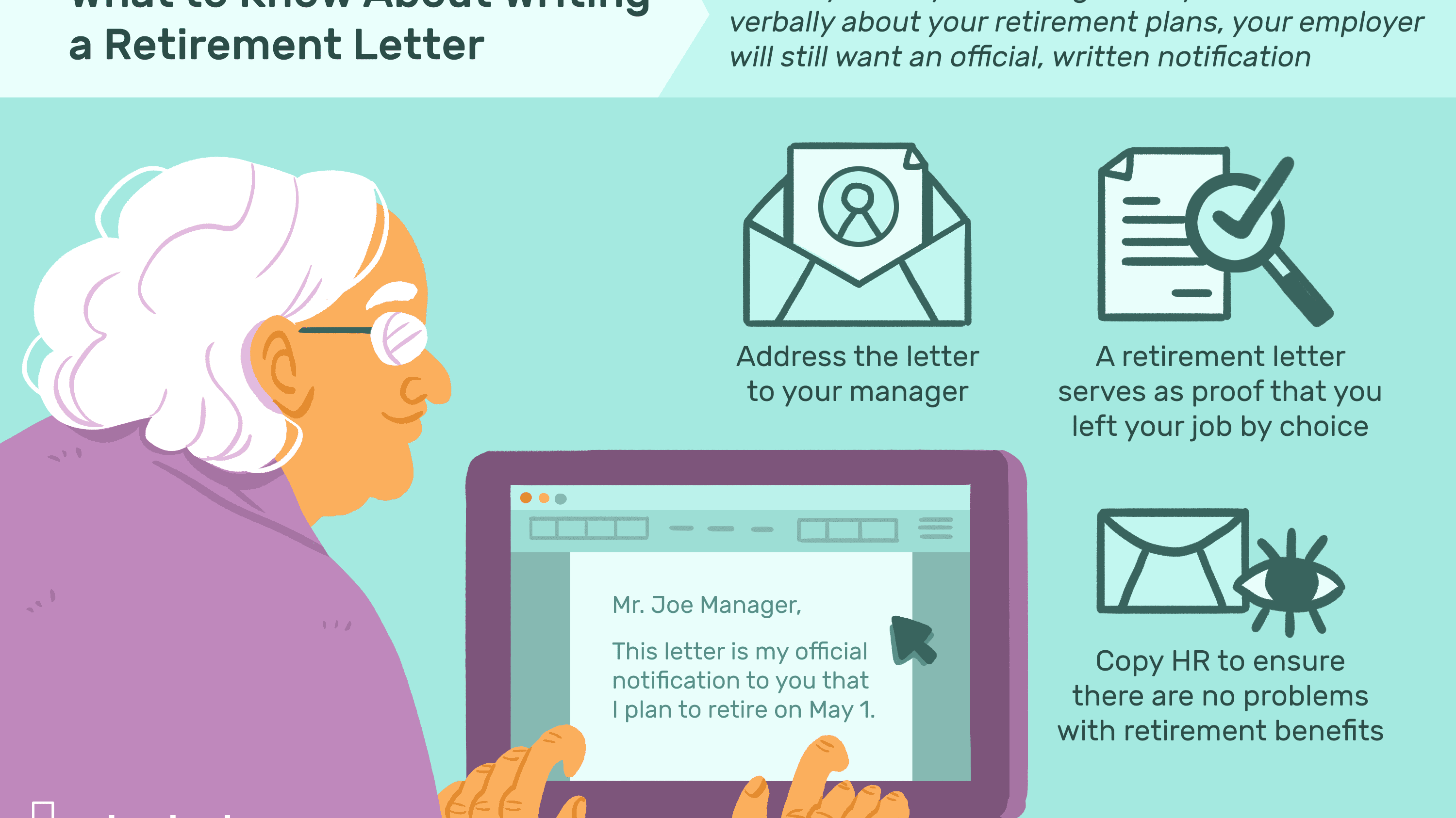 Retirement Resignation Letter Template from www.thebalancecareers.com