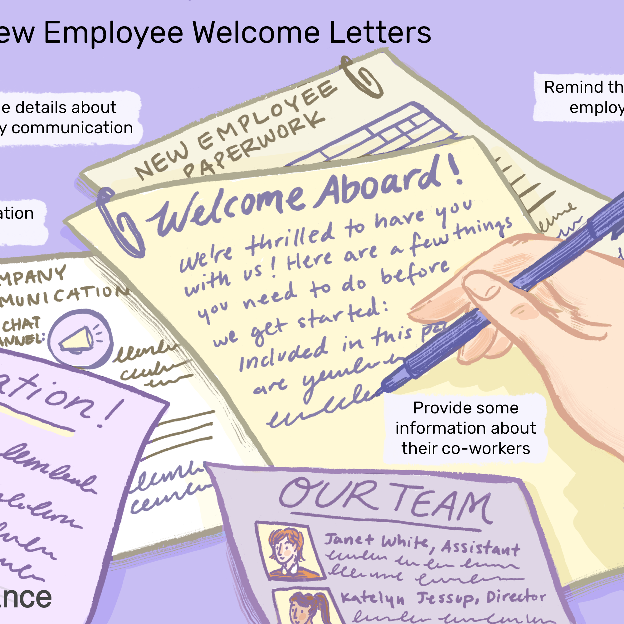 Sample Welcome Letter New Employee from www.thebalancecareers.com