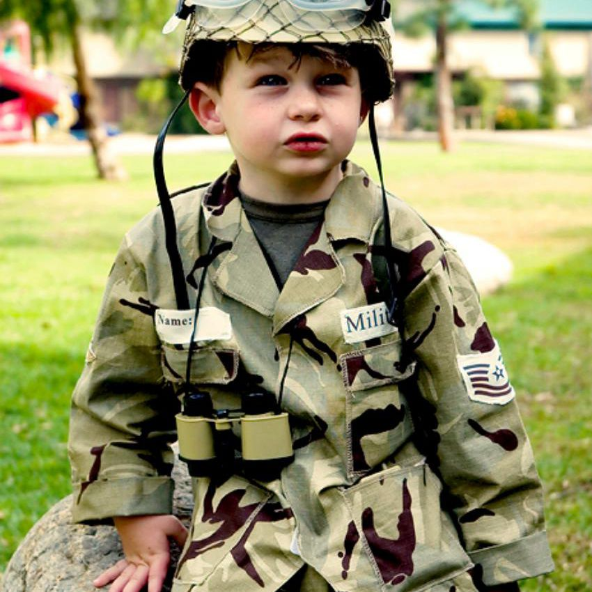Legalities of Wearing Military Uniforms on Halloween