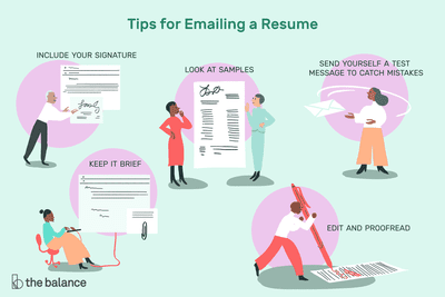 how to email a resume - How To Email A Resume