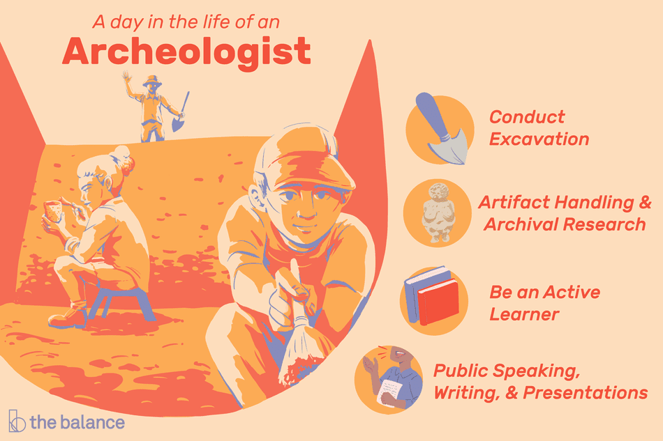 a day in the life of an archeologist