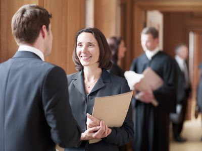Legal professions include judges, lawyers, paralegals, secretaries and more.