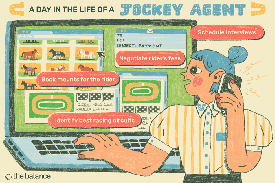 A Day in the Life of a Jockey Agent