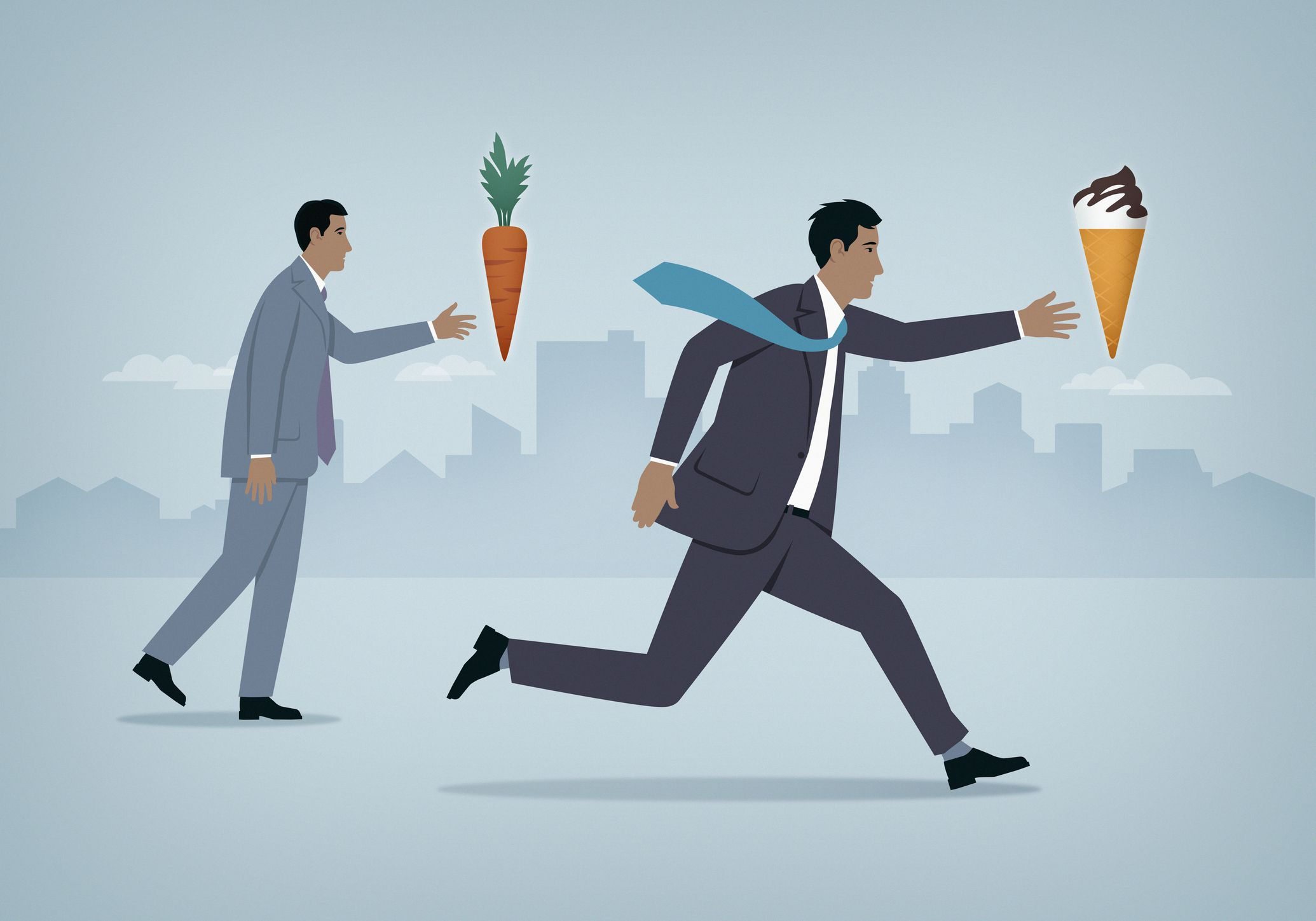 Contrasting good and bad business incentives
