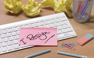 how to write a resignation letter expressing gratitude