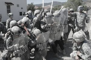 members of California National Guard MP's