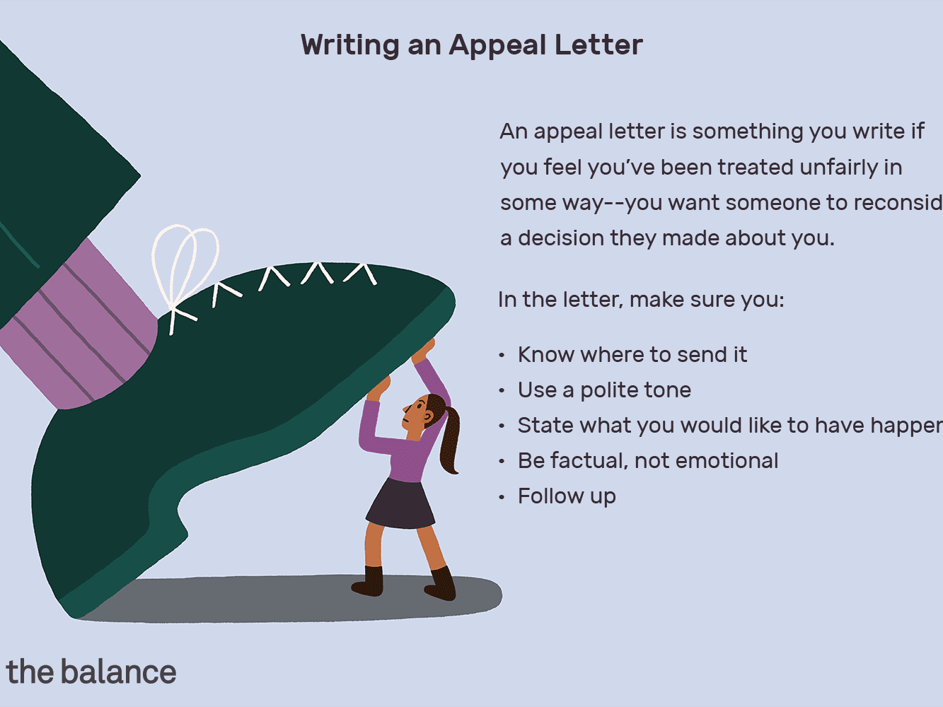 Writing An Appeal Letter from www.thebalancecareers.com