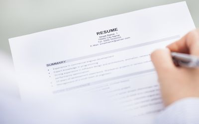 learn how to include contact information on your resume