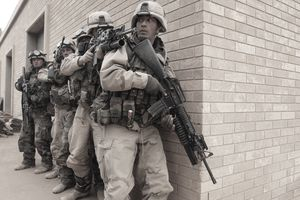 U.S. Army 3rd Division 3-7 soldiers