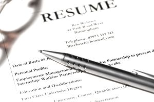 Professional resume for experienced employees
