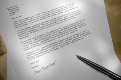 tips for using a template to write a resume cover letter