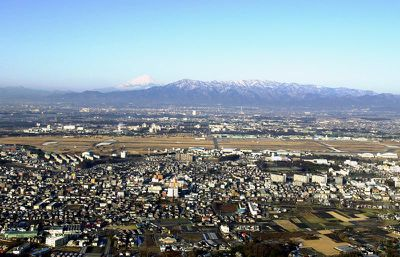 Overview of Naval Air Facility Atsugi in Japan
