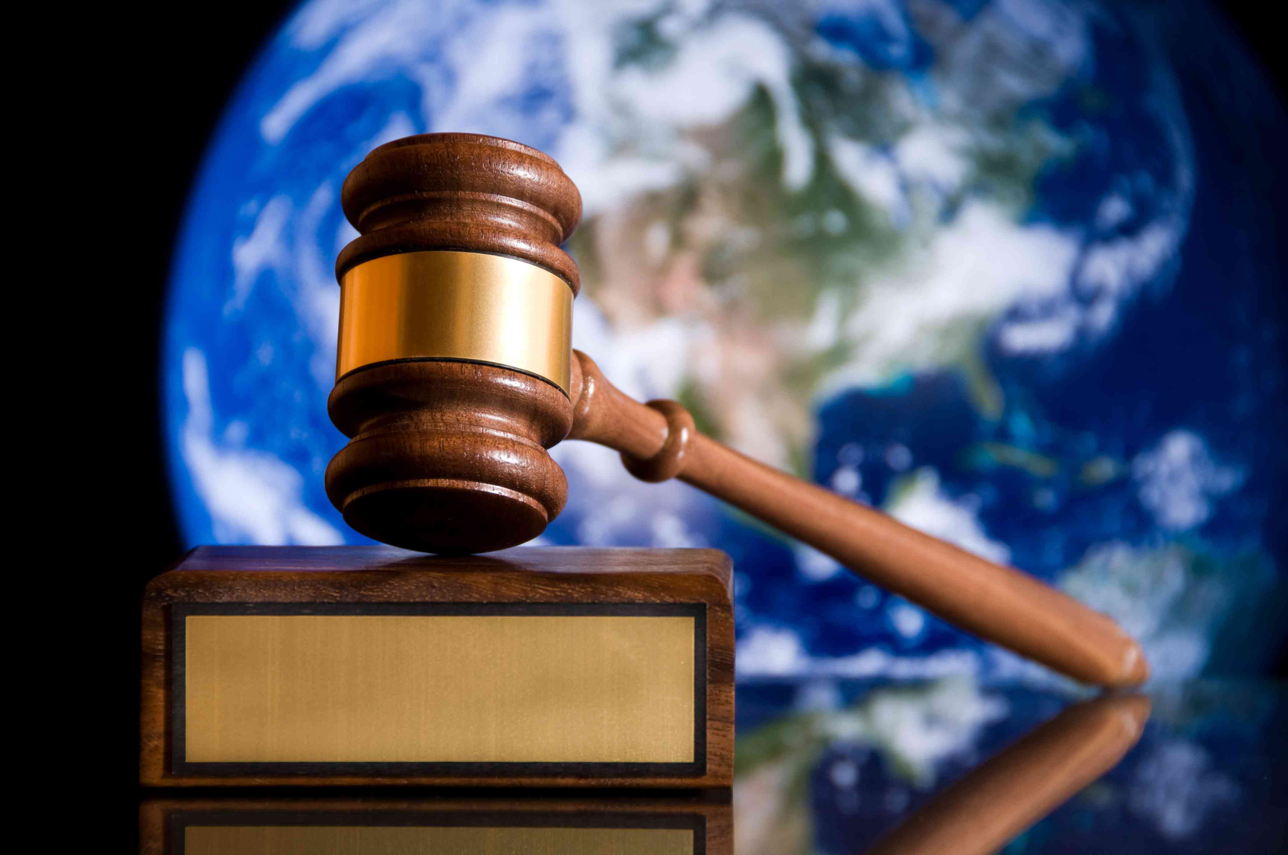 the legal professional serves global clients.