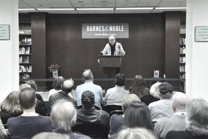 Danny Aiello doing a reading at Barnes & Noble