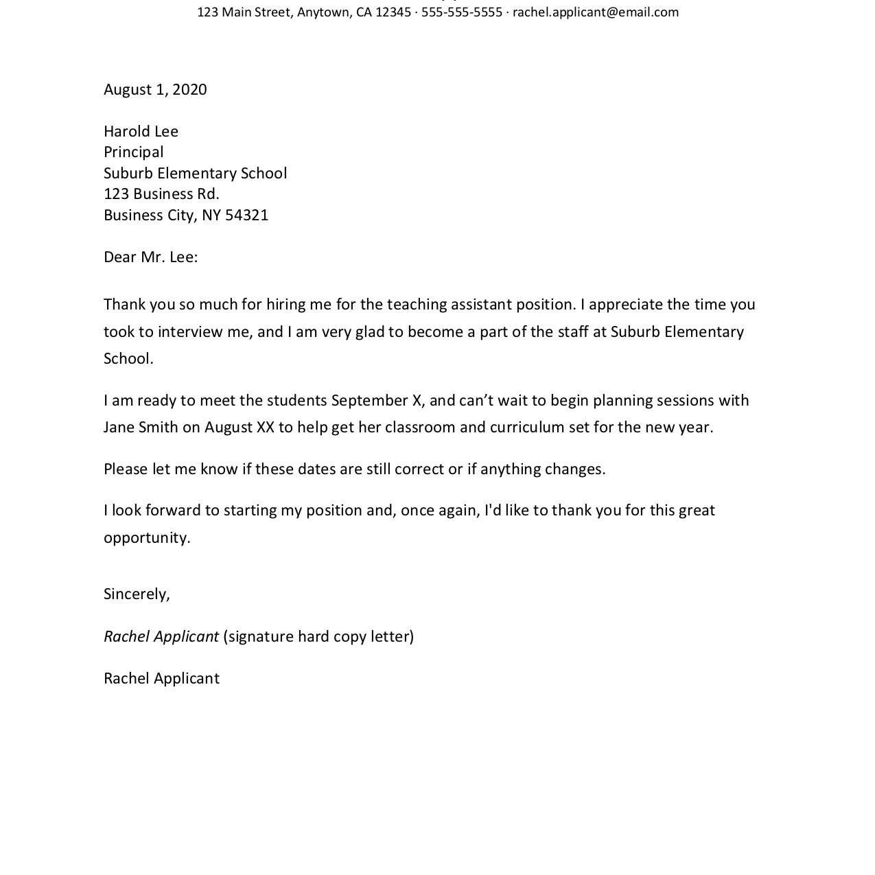 Employment Counter Offer Letter from www.thebalancecareers.com
