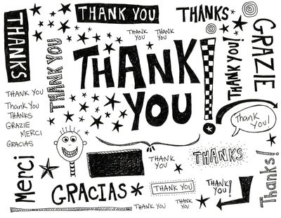 Thank you notes can be handwritten or sent by email. See the sample thank you letters.