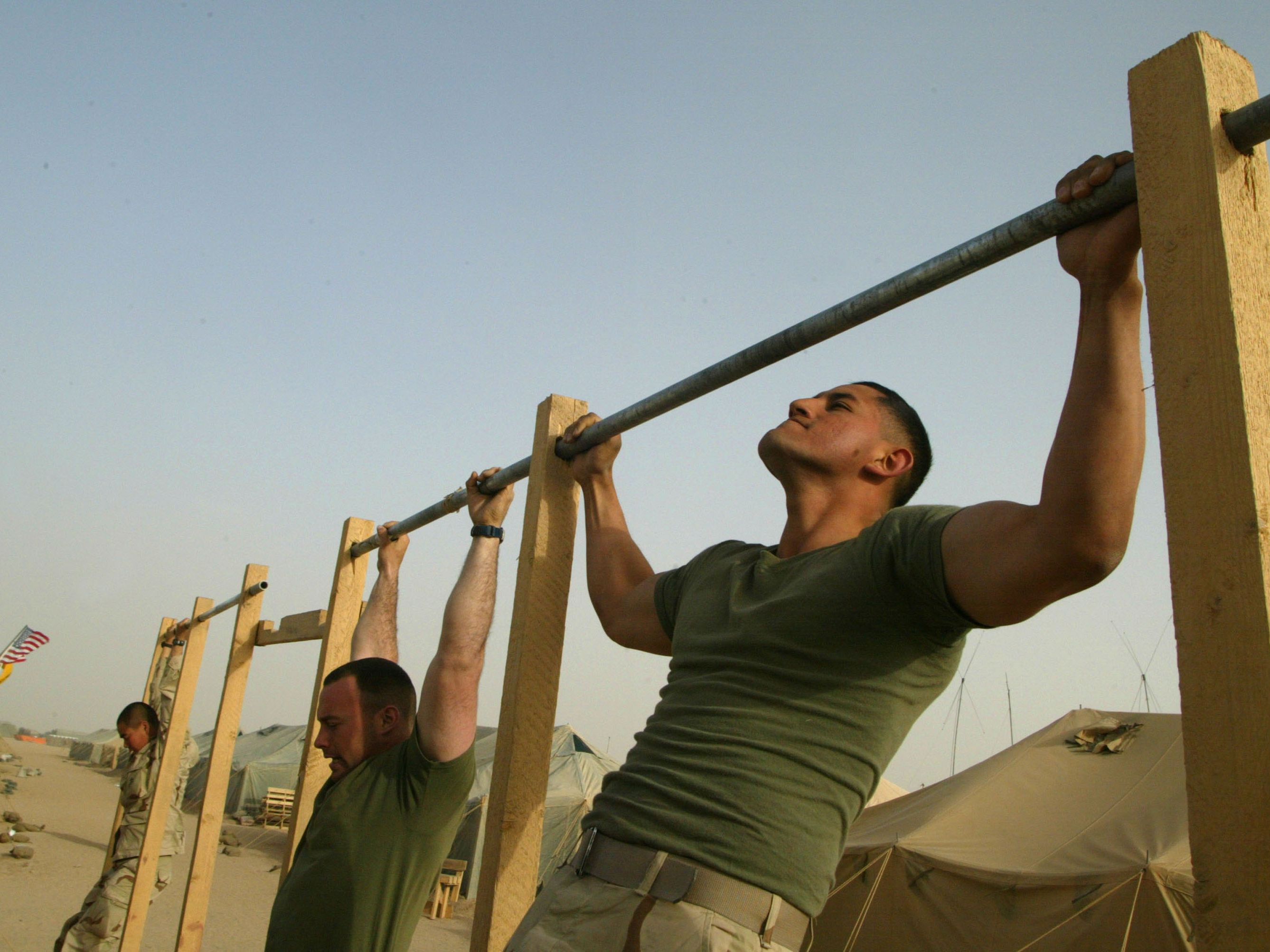 Marine Corps Physical Fitness Charts