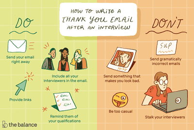 How to write an interview thank-you email