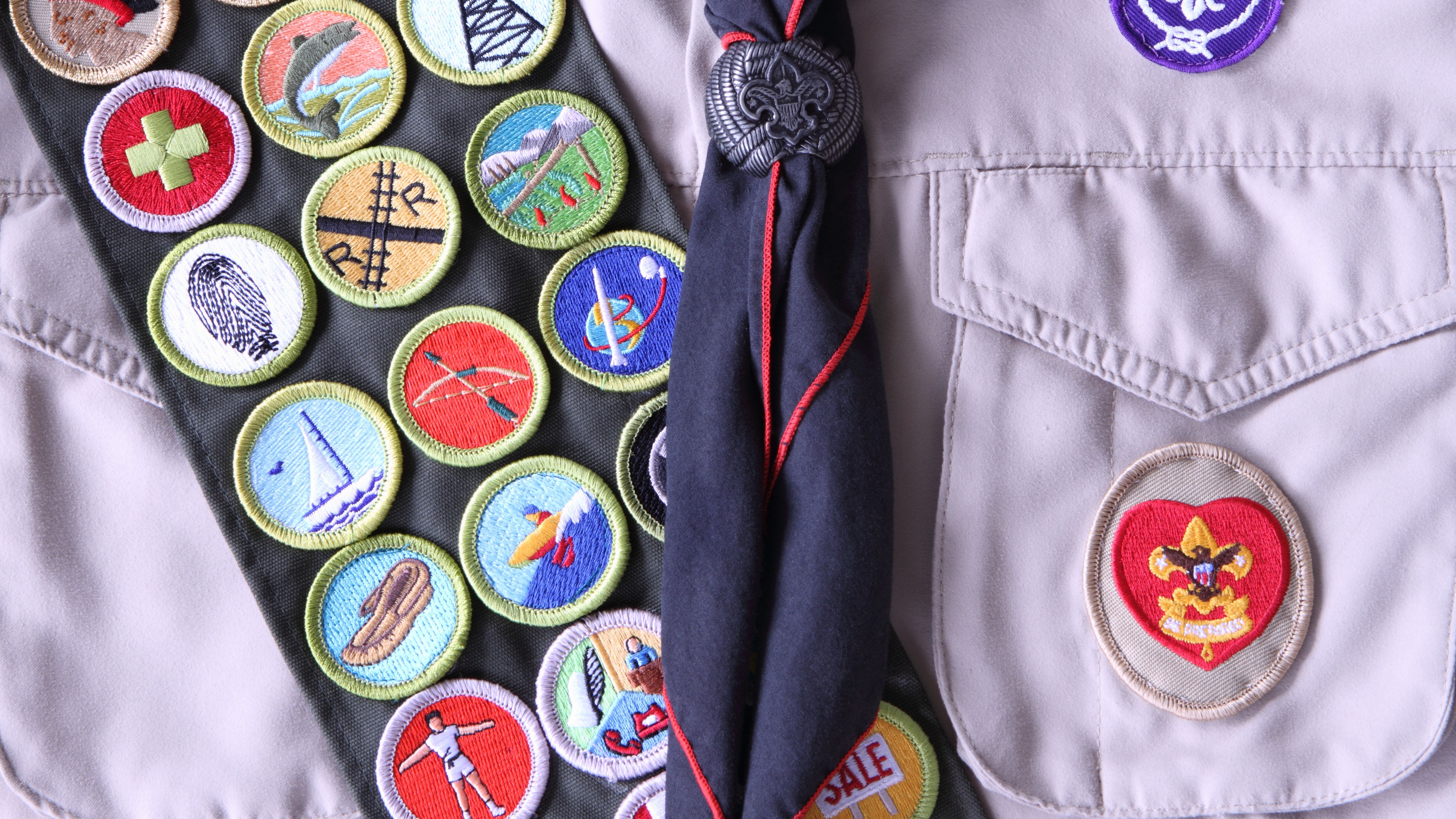 dating boy scout badges